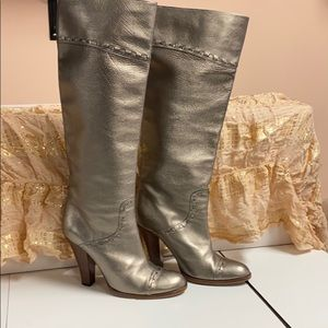 Marc Jacobs high leather boots size 37